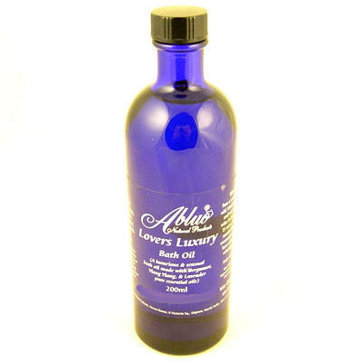 Abluo Lovers Luxury Bath Oil 200ml-Ylang Ylang,Lavendar