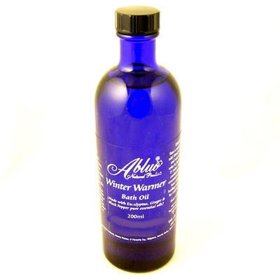 Abluo Winter Warmer Bath Oil With Ginger & Eucalyptus 200ml