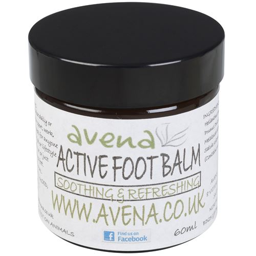 Avena Active Foot Balm SLS & Paraben Free 60ml