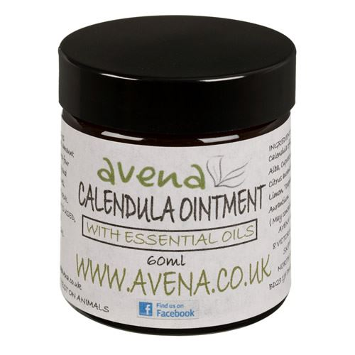 Avena Calendula Skincare Ointment With Essential Oils