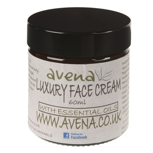 Avena Luxury Face Cream. Natural Hydration & Protection 60ml