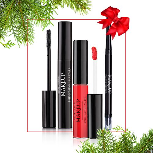 Federico Mahora Bold Look Make Up & Lipstick Gift Set