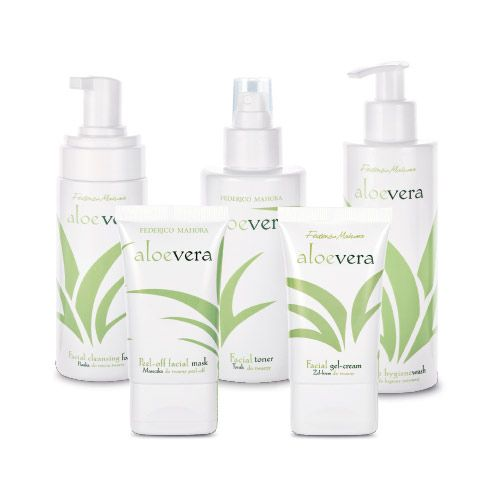 Federico Mahora Complete Aloe Vera Facial Cleansing Gift Set