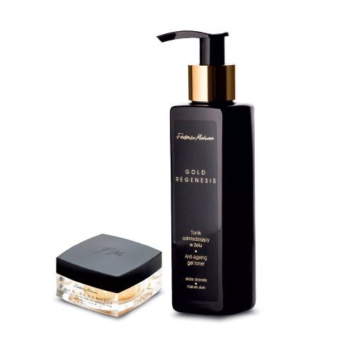 Federico Mahora Gold Regenesis Eye Cream & Anti Ageing Gel Toner Set