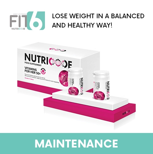 FIT 6 Maintenance Stage - Nutricode Vitamins For Her 50+