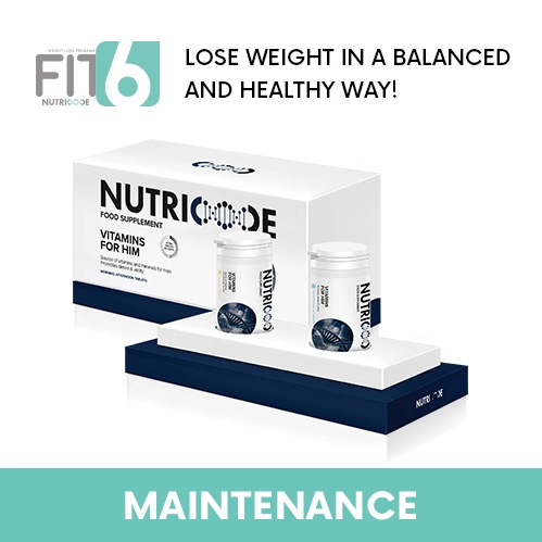 FIT 6 Maintenance Stage - Nutricode Vitamins For Him