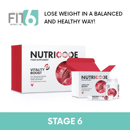 FIT 6 Stage 6 - Nutricode Vitality Boost