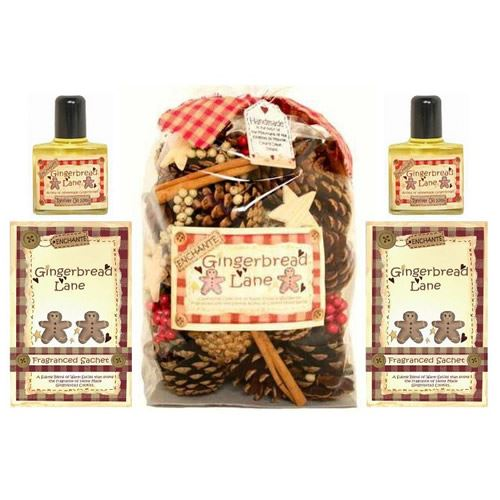 Gingerbread Lane 5 Piece Scented Fragrance Gift Set