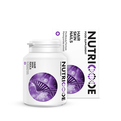 Nutricode Hair Skin Nails Beauty Supplements. 56 Tablets
