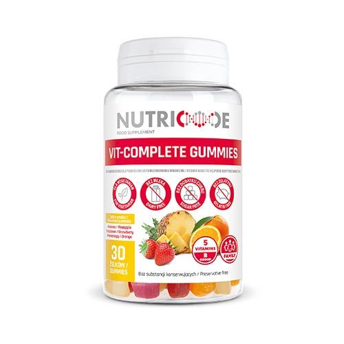 Nutricode Vit Complete Gummies - Vitamins For Kids & Adults