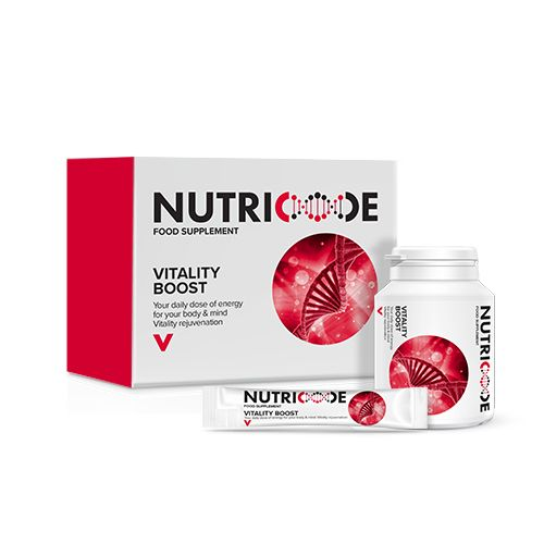 Nutricode Vitality Boost - For Your Daily Dose Of Energy