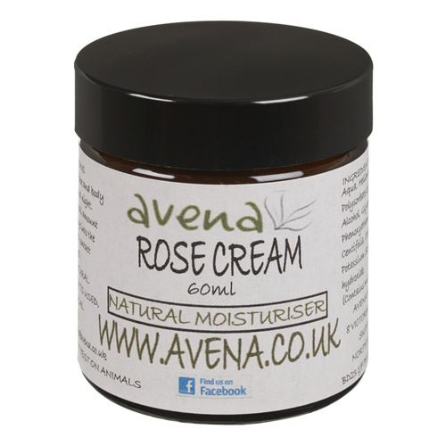 Rose Moisturising Skin Cream -With Pure Rose Oil