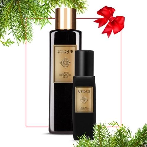 Utique Gold Duo Perfume & Shower Gel Gift Set